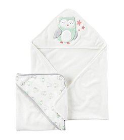Carter's® Baby 2-Pack Hooded Owl Towels
