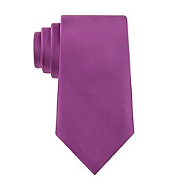 Geoffrey Beene® Men's Satin Solid Silk Tie