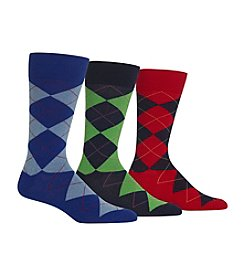 Polo Ralph Lauren® Men's Classic Argyle 3-Pack Socks