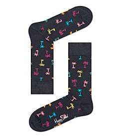 Happy Socks® Men's Palm Tree Dress Socks
