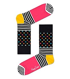 Happy Socks® Men's Stripe Dress Socks