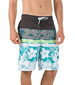 Speedo® Men's Underline Floral E-Board Shorts