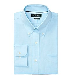Lauren Ralph Lauren® Men's Solid Regular Fit Dress Shirt