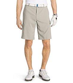 Izod® Men's Cargo Micro Classic Fit Sportflex Shorts