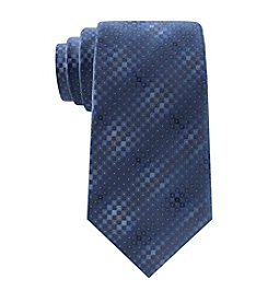 Kenneth Cole® Men's Mini Step Geo Tie