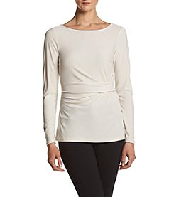 Jones New York® Drape Front Knit Top