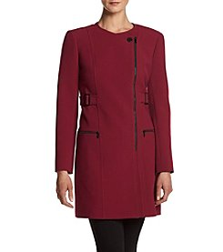 Jones New York® Contrast Trim Coat
