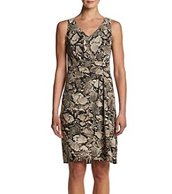 Jones New York® Snake Print Dress