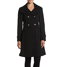 Ivanka Trump® Funnelneck Fit And Flare Coat