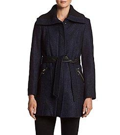 Via Spiga® Belted Walker Coat