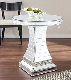 Southern Enterprises Liliana Mirrored Accent Table
