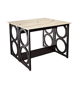 Southern Enterprises Radia Faux Marble Counter Height Dining Table