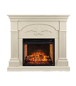 Southern Enterprises Sicilian Harvest Infrared Electric Fireplace