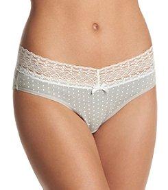Relativity® Plus Size Dot Print Bikini Panty