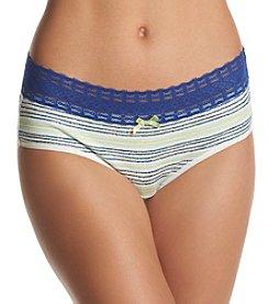 Relativity® Stripe Print Hipster Panty