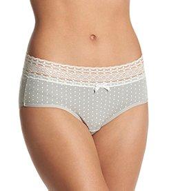 Relativity® Dot Print Hipster Panty