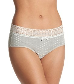 Relativity® Plus Size Print Hipster Panty