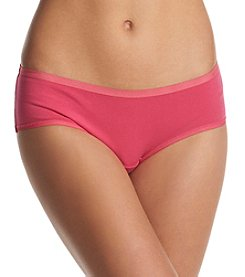 Relativity® Plus Size Solid Hipster Panty