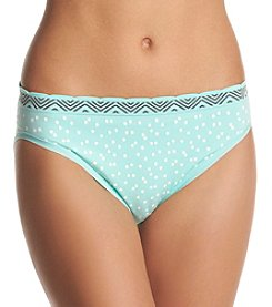 Relativity® Seamless Print High Cut Panty