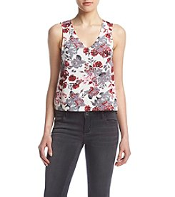 Kensie® Antique Floral Tank