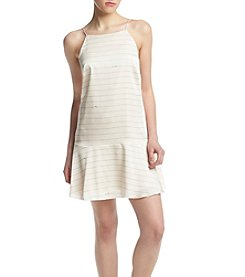 Kensie® Striped Drop Waist Dress