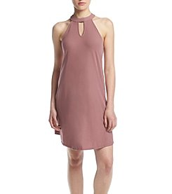 Pink Rose® V-Neck Swing Dress