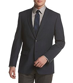 Calvin Klein Men's Mini Grid Slim Sport Coat