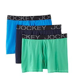 Jockey® Men's 3-Pack Active Mesh Boxer Briefs