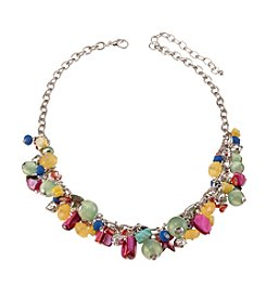 Studio Works® Multi Color Bead Shell Shaky Necklace