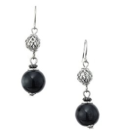 Studio Works® Two Bead Drop Earring