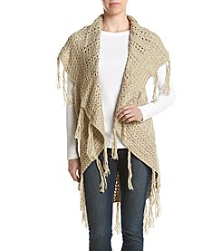 Ruff Hewn Crochet Fringe Vest