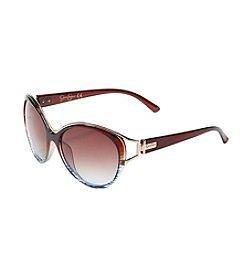 Jessica Simpson Cateye Plastic Sunglasses