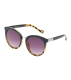 Jessica Simpson Round Flat Sunglasses