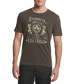 Lucky Brand® Men's Shamrock Poker Short Sleeve Tee
