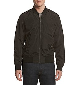 Distortion® Men's Nylon Bomber Jacket