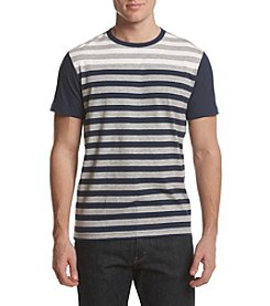 John Bartlett Consensus Men's Engineered Stripe Short Sleeve Tee