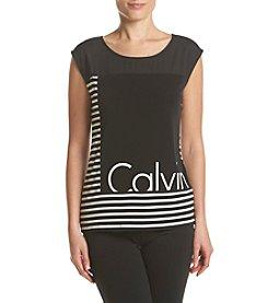 Calvin Klein Matte Logo Tee