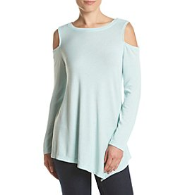 Fever™ Cold Shoulder Top