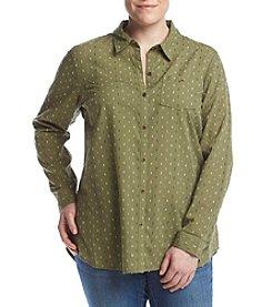 Ruff Hewn Plus Size Boyfriend Shirt