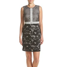 Adrianna Papell® Lace Trim Shift Dress