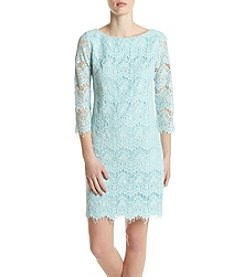 Jessica Howard® Scallop Lace Dress