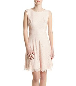 Jessica Simpson Fit And Flare Lace Dress
