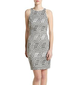GUESS Geo Sheath Dress