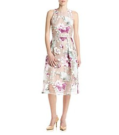 Ivanka Trump® Floral Midi Dress