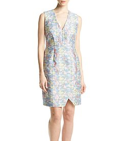 Calvin Klein Floral Jacquard Dress