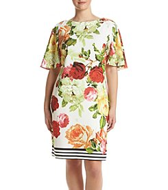 Gabby Skye® Plus Size Floral Dress