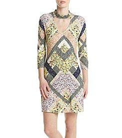 Madison Leigh® Scarf Swing Dress