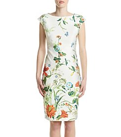 Gabby Skye® Floral Scuba Dress