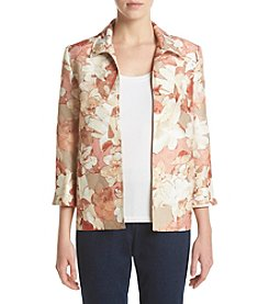 Alfred Dunner® Floral Texture Jacket