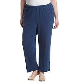 Alfred Dunner® Plus Size Adirondack Trail Proportioned Pants